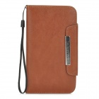 KALAIDENG PU Flip-Open Case for Samsung Galaxy Note 3 - Brown