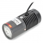 KONG JING LSZ-60C 3800mW 940nm Waterproof IR LED Array Camera Auxiliary Light - Black