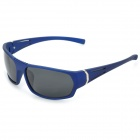 BaoLina 5035 Outdoor Sports UV400 Protection Sunglasses - Deep Blue