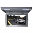 Kangsung TU-168 16-Inch High-Resolution Car Flip Down Monitor w / FM / VGA - Grey