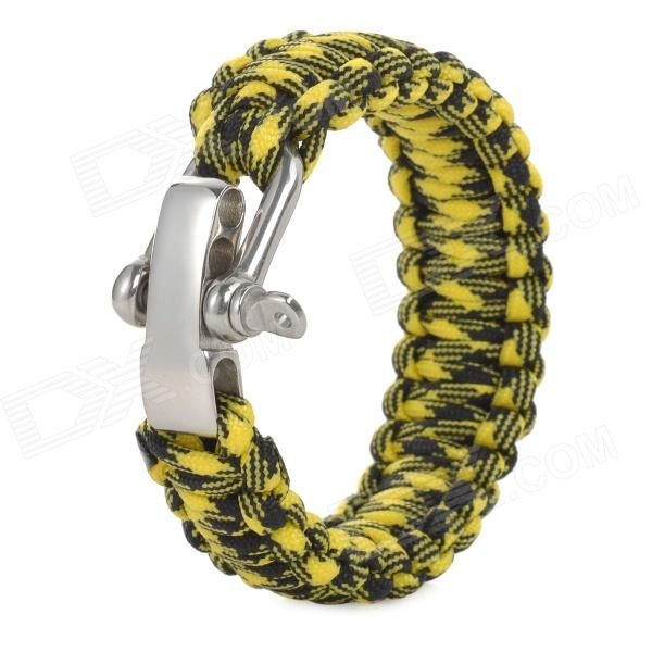 Emergency Escape Quick-Release Hand Rope - Yellow + Black подвесной унитаз ifo special 731100200