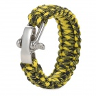 Emergency Escape Quick-Release Hand Rope - Yellow + Black