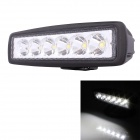 30 Degree Spot 18W 1260lm 6000K 6-LED Working Light / Daytime Running Light / Off-Road Lamp - Black