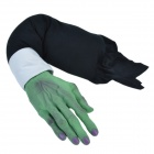 SYVIO Horror Hand of Zombie/ Props for Halloween & Ghost House/ Trick Toys - Green + Black