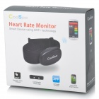 ANT+ Wireless Heart Rate Monitor Strap for Smart Phones / Computer - Black