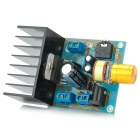 Aluminum DC / AC Power Amplifier Board - Blau + Schwarz + Golden (6 ~ 18V)