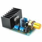 Aluminum DC / AC Power Amplifier Board - Blue + Black + Golden (6~18V)