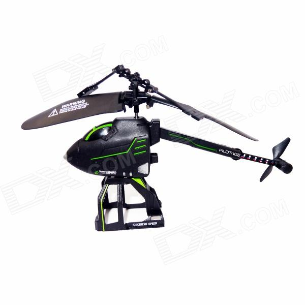 BZ125 2.5-CH Mini Folding R / C Helicopter - Schwarz