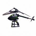 BZ125  2.5-CH Mini Folding R/C Helicopter - Black
