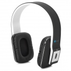 AT-BT803 Bluetooth v3.0 + EDR Stereo Headphones w/ Microphone - Black + White