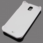 5V 3800mAh External Power Bank Battery Case for Samsung Galaxy Note3 - White