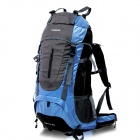 Creeper YD-183 Outdoor Nylon Mountaineering Backpack Bag - Blue (60L)