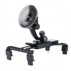 Multifunction Rotatable Suction Cup Car Mount Holder for Sony Xperia Tablet S + More - Black