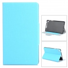 Stylish Oracle Lines Style Protective PU Leather Case for Google Nexus 7 II - Blue