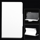 Stylish Oracle Lines Style Protective PU Leather Case for Google Nexus 7 II - White
