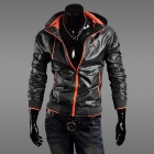 Mr.cc 1414-8002 Fashionable Men's Quick-Drying Jacket - Black + Orange (Size-XL)