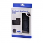 Wireless Bluetooth V3.0 59-Key teclado w / PU caso de couro para Samsung Galaxy T310 / T311 - Preto