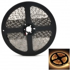 48W 2400lm 3500K 600-3528 SMD LED Warm White Light Flexible Decorative Strip Lamp (12V / 5m)