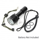ARCHON D10U 680lm 3-Mode White Zooming Diving Flashlight w/ CREE XM-L U2 - Black (1 x 18650)