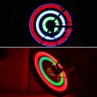 Bicycle Wheel 3 Mode Colorful Flashing Light - Translucent White