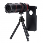 KHAMA BBYS-618 6~18X Zoom Microscope Lens  w/ TrIpod for Iphone 5 - Black