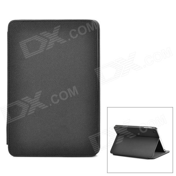 Stylish Protective PU Leather + Plastic Case for Ipad MINI - Black - DXCases for Ipad<br>Brand N/A Model 35071 Quantity 1 Piece Color Black Material PU leather + plastic Compatible Models Ipad MINI Auto Wake-up / Sleep NO Other Features Protects your device from scratches dust and shock Packing List 1 x Protective case<br>