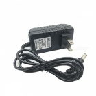 5V 2A AC Power Charger Adapter for Tablet PC - Black (US Plug / 100~240V / 100cm-Cable)