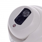 "CARD LEAD CL-4011/AS 1/3"" 800TVL Surveillance CCD Video Camera w/ 1-IR LED - White"