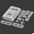 Protective ABS Clear Enclosure Case for pcDuino - Transparent