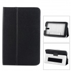 Protective PU Leather Case for Huawei S7-601 c / w / u & S7-701C - Black