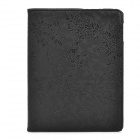 CT1211009 Grape Vine Style Protective 360 Degree Rotation PU Leather Case for Ipad 2 / 3 / 4 - Black