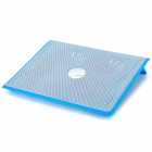"Coolcold Elegant Ice 3 Dual-USB 4-Fan Cooling Gear Stand w/ Individual Switch for 17"" Laptop - Blue"