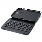 K540 360 Degree Rotating 59 keys External Wireless Bluetooth V3.0 Keyboard for Samsung N5100 - Black