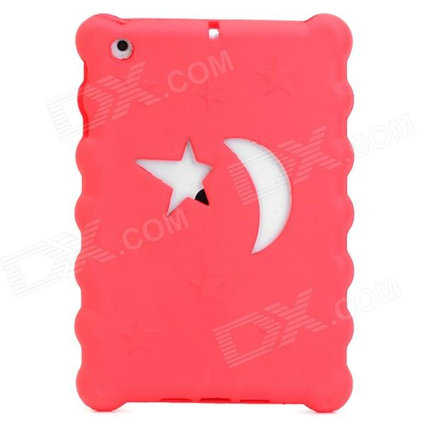 Christmas Series Moon & Stars Style Protective EVA Back Case for Ipad MINI - Red coteetci w6 luxury stainless steel magnetic watchband for apple watch series 1 series 2 38mm gold