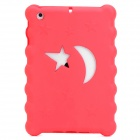 Christmas Series Moon & Stars Style Protective EVA Back Case for Ipad MINI - Red
