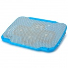 Coolcold K25 4-USB 2.0 Port 4-Fan Cooling Pad for Laptops - Blue
