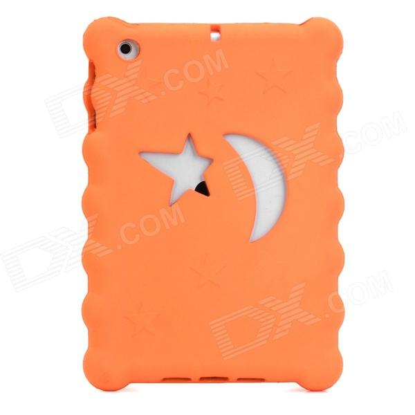 Christmas Series Moon & Stars Style Protective EVA Back Case for Ipad MINI - Orange coteetci w6 luxury stainless steel magnetic watchband for apple watch series 1 series 2 38mm gold