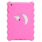 Christmas Series Moon & Stars Style Protective EVA Back Case for Ipad MINI - Deep Pink