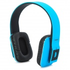 AT-BT803 Bluetooth v3.0 + EDR Stereo Headphones w/ Microphone - Blue + Black