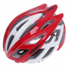 TITANS CG03DG-008 Outdoor Bicycle Cycling Helmet - Red + White (Size-L)