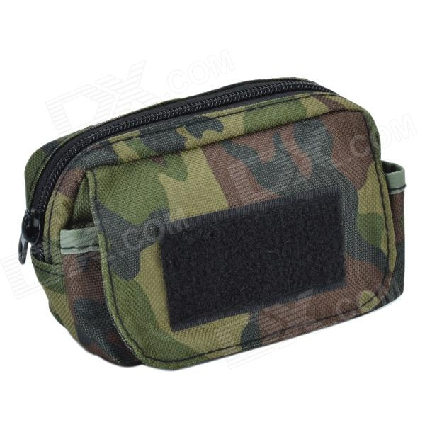 SYVIO Outdoor 800D Waterproof Accessories Bag for Mobile Phone - Camouflage Green душевой уголок cezares verona r 1 90 c cr l