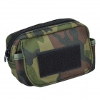 SYVIO Outdoor 800D Waterproof Accessories Bag for Mobile Phone - Camouflage Green