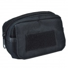 SYVIO Outdoor 800D Waterproof Accessories Bag for Mobile Phone - Black
