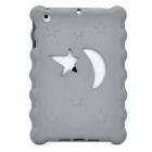 Christmas Series Moon & Stars Style Protective EVA Back Case for Ipad MINI - Grey