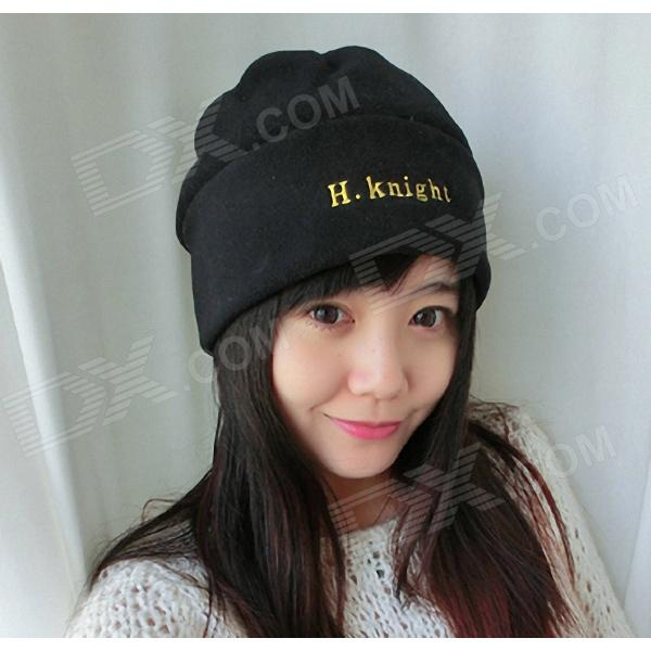 Stylish Fleece Windproof Hat - Black носки guahoo 51 0923 cw gy 974