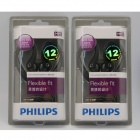 Philips SHS3200 Flexible Extra Bass Earhook Headphones for Ipod/Iphone/CD (2 PCS)
