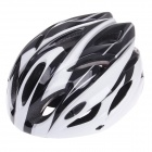 TITANS CG03DG-003 Outdoor Bike Bicycle Cycling Helmet - Black + White (Size-L)
