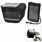 ROSWHEEL Bike Cycling Riding Multifunction Bag - Black