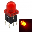 Jtron Light Touch Switches w/ Red Light - Red (10 PCS)