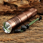 RAYSOON RS901 Cree XM-L T6 600lm 5-Mode White Flashlight w/ Diffuser - Brown (1 x 18650 / 26650)